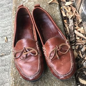 Cole Haan Women's Leather Loafers Sz 9AA (Narrow)